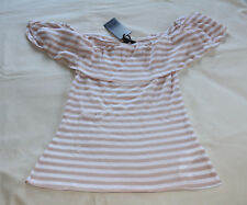 Cotton On Ladies Rori Ruffle Short Sleeve Off Shoulder Top Size L New