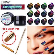 Any 3 Colors Elite99 Color-changing Chameleon Gel Nail Polish Brush Pen UV LED