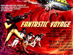 16mm Feature Film: FANTASTIC VOYAGE (1966) Raquel Welch - SCI-FI, FANTASY
