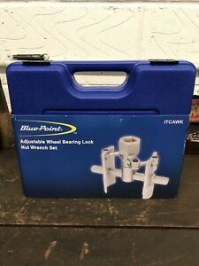 Bluepoint Adjustable Wheel Bearing Lock Nut Wrench Set ITCAWK. Sold By Snap On