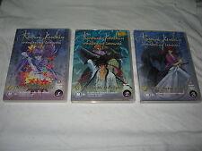 Rurouni Kenshin - Wandering Samurai - 1, 2, 3 - VGC - R4 - DVD