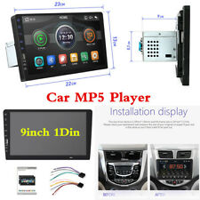 9inch 1Din Indash Car Bluetooth FM Stereo Multimedia MP5 Player USB Mirror Link