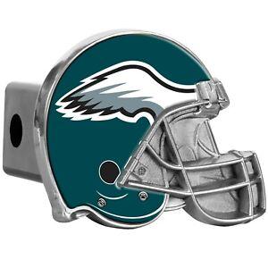 """NFL Philadelphia Eagles Metal Helmet Trailer HitchCover ( for 2"""" hitch )"""