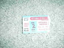 1980 Ottawa 67's OHA Minor League Hockey Ticket 2/2