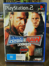 Smackdown VS Raw 2009 - PS2 PlayStation - PAL - Free Shipping