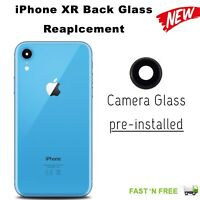 Blue Back Rear Glass Housing Battery Cover Replacement For Apple iPhone XR
