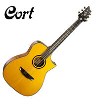 Cort Luxe Frank Gambale Signature Acoustic Guitar Concert Body Cut Away SolidTop