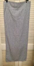 Ralph Lauren King Size Blue And White Stripe Pillowcase