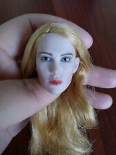 """1:6 Scale Sharon Stone Young ver. Woman Head Model For 12"""" Female Figure Body"""