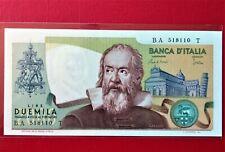 1983 ITALY 2000 LIRE BANKNOTE (PREFIX BA) @ UNC