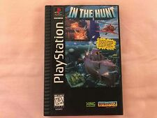 In The Hunt (Sony PlayStation 1) Long Box Version