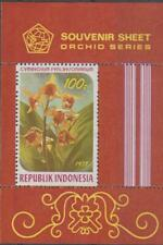 Indonesia 1978 Souvenir Sheet #1038a Orchid - MH