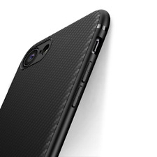 iPhone 8 Case 7, Jecent Carbon Fiber Texture Design Light ShockProof Rugged Grip