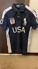 Lot of 8 Polo Ralph Lauren Big Pony Rugby Size M