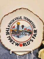 The 1982 World's Fair Knoxville Tennessee Decorative  Collectable plate