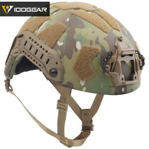 IDOGEAR Tactical Helmet SF Helmet SUPER High Cut FAST Full Protective Airsoft MC