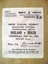 I Football International Fixture Tickets & Stubs