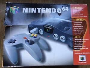 Nintendo 64 Console Boxed! Look In The Shop!