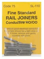 PECO SL-110 - 24 x Code 75 Fine Scale Fishplates (Track Joiners) - '00' New Pack