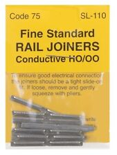 PECO SL-110 6 x Pks 00 Gauge Code 75 Finescale Fishplates Track Joiners 2nd Post