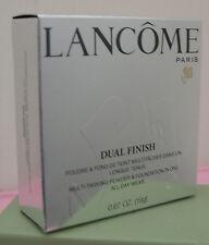 NIB Lancome Dual Finish 340 Nu III (N) ~ 0.67 oz/19 g ~ Full Size ~