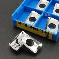 10×  R6 milling insert RPGT1204MO-AK H01 Used for Aluminum RPGT1204M0
