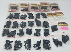 Huge Lot of 2000+ Darice Black 7mm Pom Poms for Crafts Kids' Crafting No. 10550