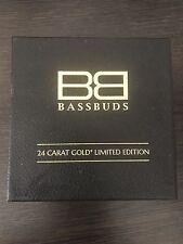 Bassbuds 24 Carat Gold In-Ear Headphones