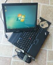 Lenovo Thinkpad X61 Tablet Core 2 Duo 80GB 2GB RAM Touchscreen windows 7 Home