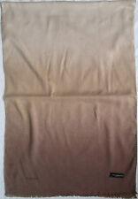 - étole/écharpe ROCCOBAROCCO  soie et cachemire  vintage Scarf  60 x 180 cm
