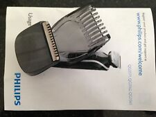 PHILIPS GENUINE QG3320 QG3332 QG3342 MULTIGROOM DETAIL TRIMMER WITH EYEBROW COMB