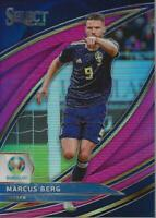 2020 Select UEFA Euro Prizms Variations Pink #271 Marcus Berg /99