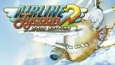 AIRPLANE TYCOON 2 GOLD EDITION FOR PC VIDEO GAME XP 7 8 10 WINDOWS VISTA SEALED!