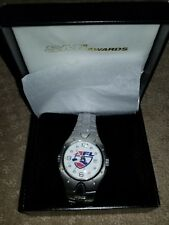Rare AFL Arena Football League Watch Metal strap deluxe box