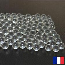 Billes transparent X100-6mm Pour Lance Pierre Catapulte Tir Arc loisir Chasse
