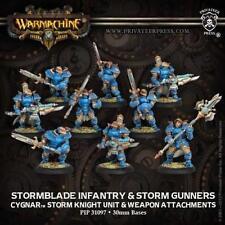 Privateer Press Warmachine: Cygnar Stormblade Infantry Unit Box PIP 31097