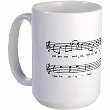 11oz mug When I'm 64 - Classic Lyrics Ceramic Coffee Cup
