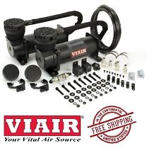 VIAIR 200PSI 3.53CFM 480C Dual Performance Value Pack 48042 Stealth Black