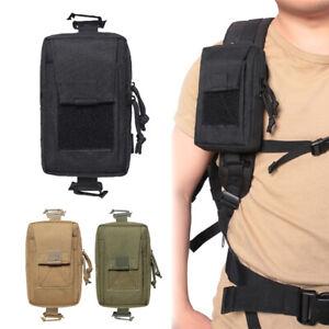 Tactical Molle Pouch Shoulder Strap Bags Belt Bag EDC Tool Waist Pack Phone Bag