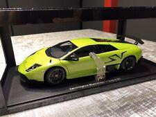 AUTOart 1:18 Lamborghini Murcielago LP670-4 SV (Green Ithaca) RARE BNIB