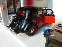 LGB G Scale 1:24 1938 Citroen CV 15 TA Detailed Burago Diecast Vintage Model Car