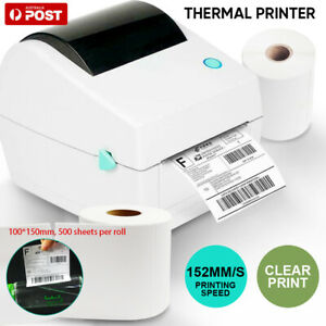 Simple & Durable Label Printer Thermal Shipping Address Barcode 4*6 150mm*100mm