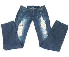 Machine Novelle Mode Womens Jeans Size 31 Destroyed Distressed Bootcut