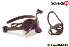 Schleich Sofia /& Blossom Cavallo Set solido in Plastica Giocattolo Animale RIDER SADDLE NUOVO