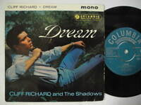 """CLIFF RICHARD Dream / All I Do Is Dream Of You + 2 EP 45 7"""" 1961 UK"""