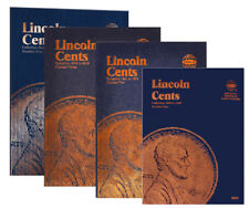 Whitman Lincoln Cent 1909 - Current Coin Folders #1-4 Brand NEW!