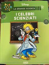DISNEY LA GRANDE SCIENZA Vol.3 I Celebri Scienziati