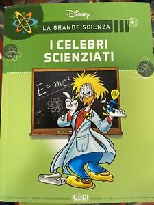 DISNEY LA GRANDE SCIENZA Vol.3 I Celebri Scienziati
