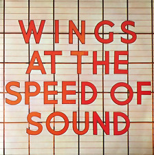 WINGS - Wings At The Speed Of Sound (LP) (VG/VG-EX)