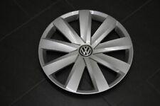 "VW EOS PASSAT 3c b6 COPRIMOZZO ORIGINALE 16/"" cappuccio Radzierblende brilliantsilber"
